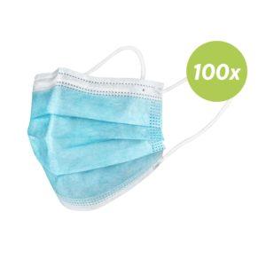 Einwegmasken für Mund und Nase (Erwachsene) - 50 Stück
