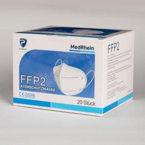 MedRhein FFP2 Einwegmasken (PSA) - 100 Stück